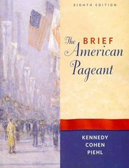 The Brief American Pageant 8th edition 9780495915317 0495915319