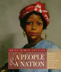 A People and a Nation 9th edition 9780495916192 0495916196