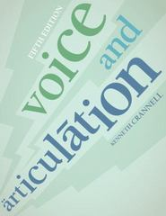 Voice and Articulation 5th Edition 9781133168195 1133168191