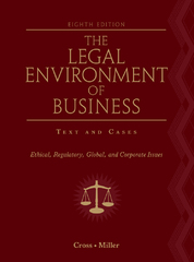 The Legal Environment of Business 8th edition 9781133170419 1133170412