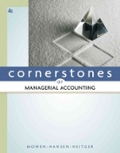 Cornerstones of Managerial Accounting