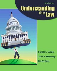 Understanding the Law 6th edition 9780538473590 0538473592