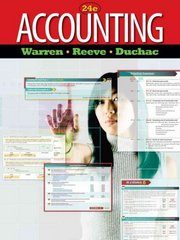 Accounting 24th edition 9780538475006 0538475005