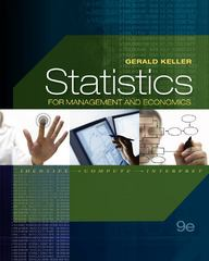 Statistics for Management and Economics (with Online Content Printed Access Card) 9th edition 9780538477499 0538477490