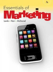 Essentials of Marketing 7th Edition 9780538478342 0538478349