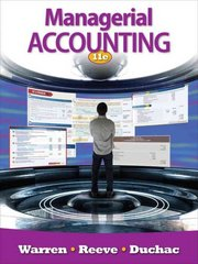 Managerial Accounting 11th edition 9780538480901 0538480904