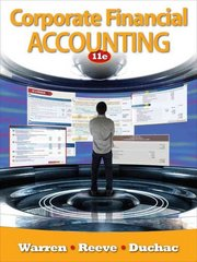Corporate Financial Accounting (Available Titles Aplia) 11th edition 9780538480925 0538480920
