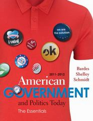 American Government and Politics Today 16th edition 9780538497190 053849719X