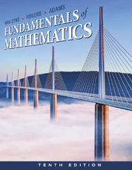 Fundamentals of Mathematics 10th edition 9780538497978 0538497971