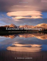 Essentials of Meteorology 6th Edition 9780840049339 0840049331