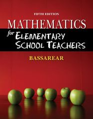Mathematics for Elementary School Teachers 5th edition 9780840054630 0840054637