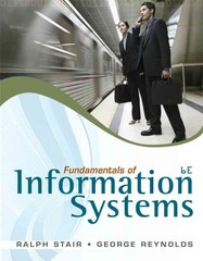 Fundamentals of Information Systems (Book Only) 6th edition 9780840062192 0840062192