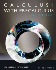 Calculus I with Precalculus 3rd edition 9780840068330 0840068336