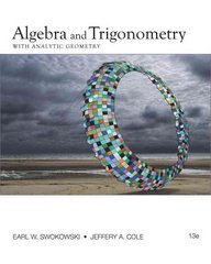 Algebra and Trigonometry with Analytic Geometry 13th edition 9780840068521 0840068522