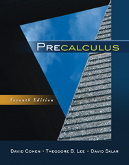 Precalculus 7th Edition 9780840069429 0840069421