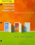 Cengage Advantage Books: Psychology Applied to Modern Life 1st edition 9781111297985 1111297983