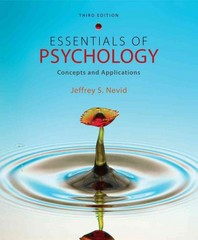 Essentials of Psychology 3rd edition 9781111301217 1111301212