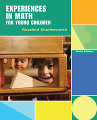 Experiences in Math for Young Children 6th Edition 9781111301507 1111301506