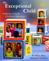 The Exceptional Child 7th Edition 9781111342104 1111342105