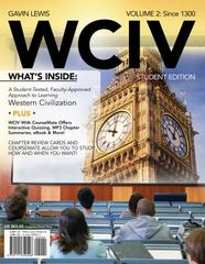 WCIV, Volume II (with Review Cards and History CourseMate with eBook, Wadsworth Western Civilization Resource Center 2-Semester Printed Access Card) 1st edition 9781111342548 1111342547