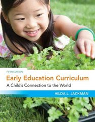 Early Education Curriculum 5th Edition 9781111342647 1111342644