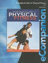 eCompanion for Principles and Labs for Physical Fitness 8th edition 9781111430450 1111430454
