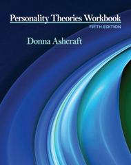 Personality Theories Workbook 5th Edition 9781111524913 1111524912