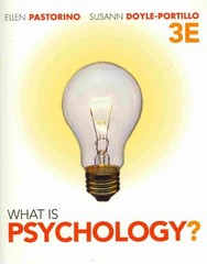 What is Psychology? 3rd edition 9781111347000 111134700X