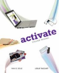 Activate 1st Edition 9781133168478 1133168477