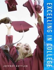 Excelling in College 1st Edition 9781428231207 142823120X