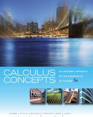 Calculus Concepts 5th Edition 9781439049570 1439049572