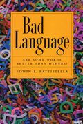 Bad Language 0 9780195337457 019533745X