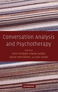 Conversation Analysis and Psychotherapy 1st edition 9780521871907 0521871905