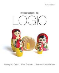 Introduction to Logic 14th Edition 9780205820375 0205820379