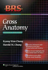 BRS Gross Anatomy 7th edition 9781605477459 1605477451