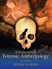 Introduction to Forensic Anthropology 4th Edition 9780205790128 0205790127