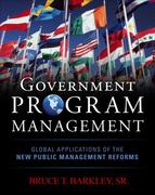 Government Program Management 1st edition 9780071744485 0071744487