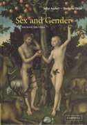 Sex and Gender 2nd edition 9780521632300 0521632307