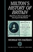 Milton's History of Britain 0 9780198128977 0198128975