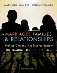 Marriages, Families, and Relationships 11th Edition 9781111301545 1111301549