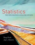 Statistics  The Exploration and Analysis of Data