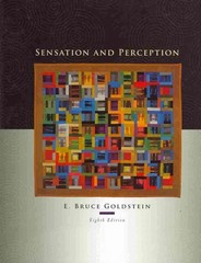 Sensation and Perception (Book Only) 8th edition 9780495807056 0495807052