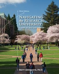 Navigating the Research University 3rd Edition 9780495913788 0495913782