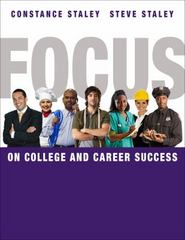 FOCUS on College and Career Success 1st Edition 9781439083901 1439083908