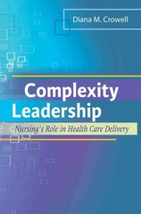 Complexity Leadership 1st Edition 9780803622333 0803622333