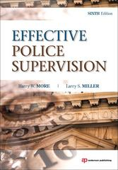Effective Police Supervision 6th edition 9781437755862 1437755860