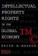 Intellectual Property Rights in the Global Economy 0 9780881322828 0881322822