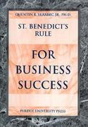 St. Benedict's Rule for Business Success 1st Edition 9781557533937 1557533938