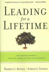 Leading for a Lifetime 1st edition 9781422102817 1422102815