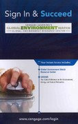 Global Environment Watch Printed Access Card 13th edition 9781423929444 1423929446